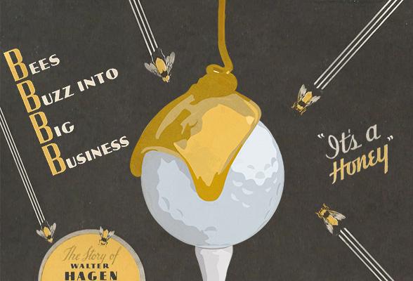 Der Honig im Golfball