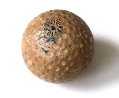 Radioaktiver Golfball