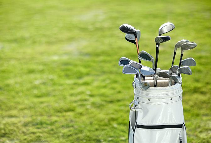 Saubere Golfausrüstung