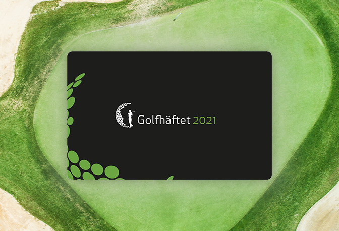 Golfhäftet 2021 Karte