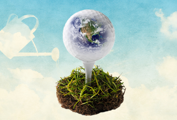 Earth Day 2021 - Nachhaltig Golfen bei Out of Bounds