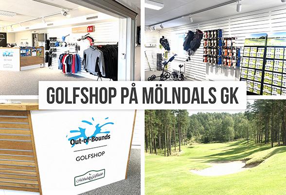 En ny golfshop på Mölndals GK