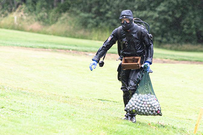 Miljövänliga golfbollar