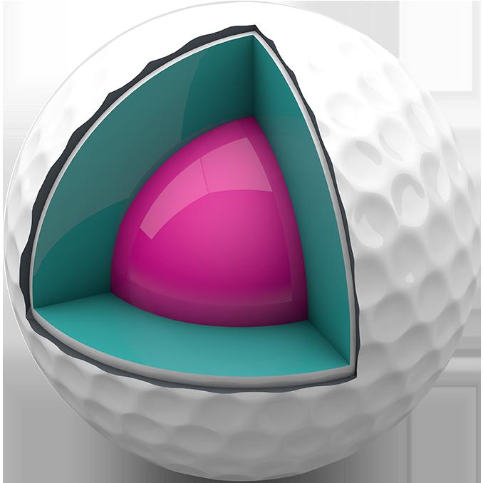 Golfbollens kärna