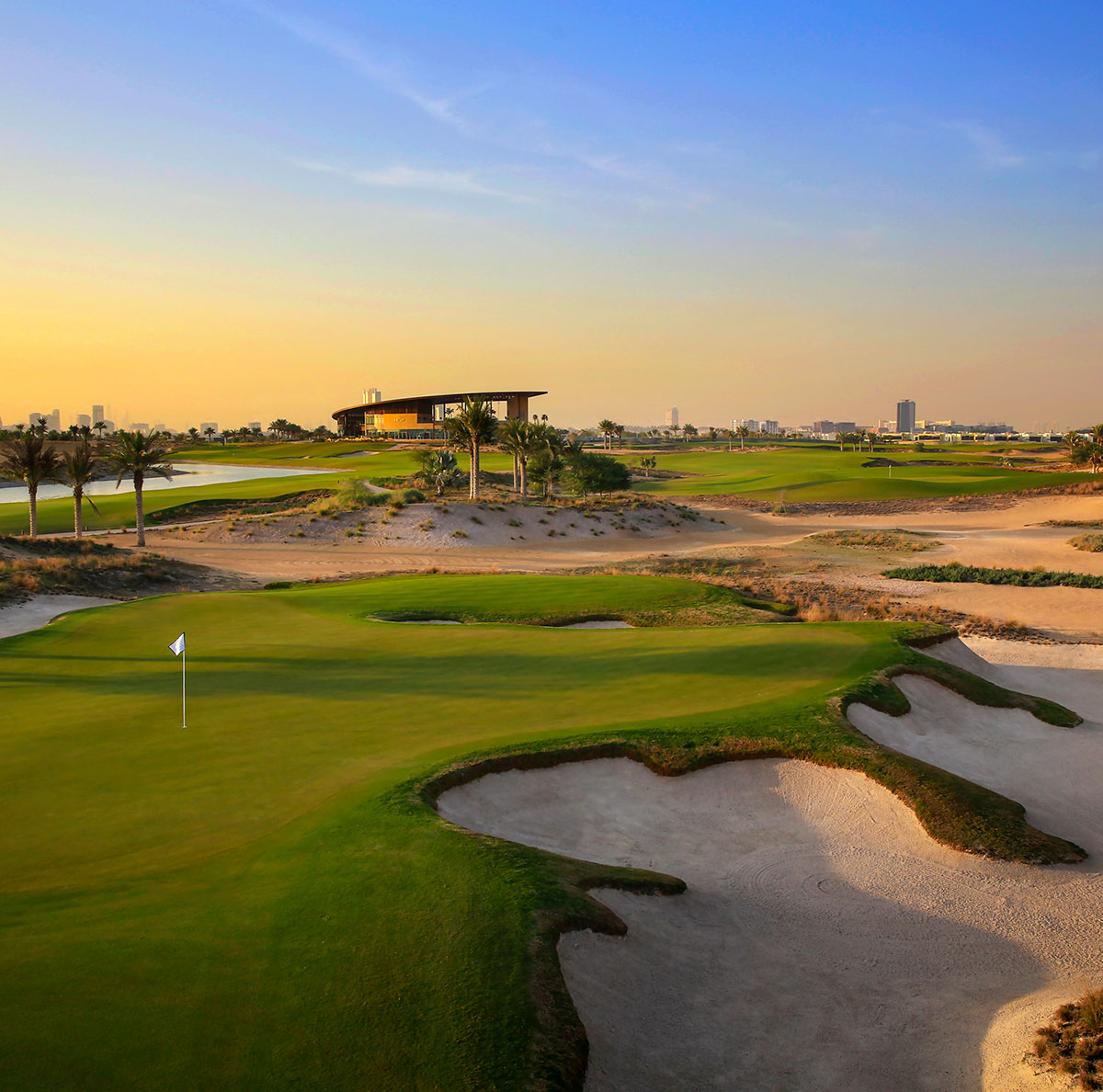 Golfbana i Dubai
