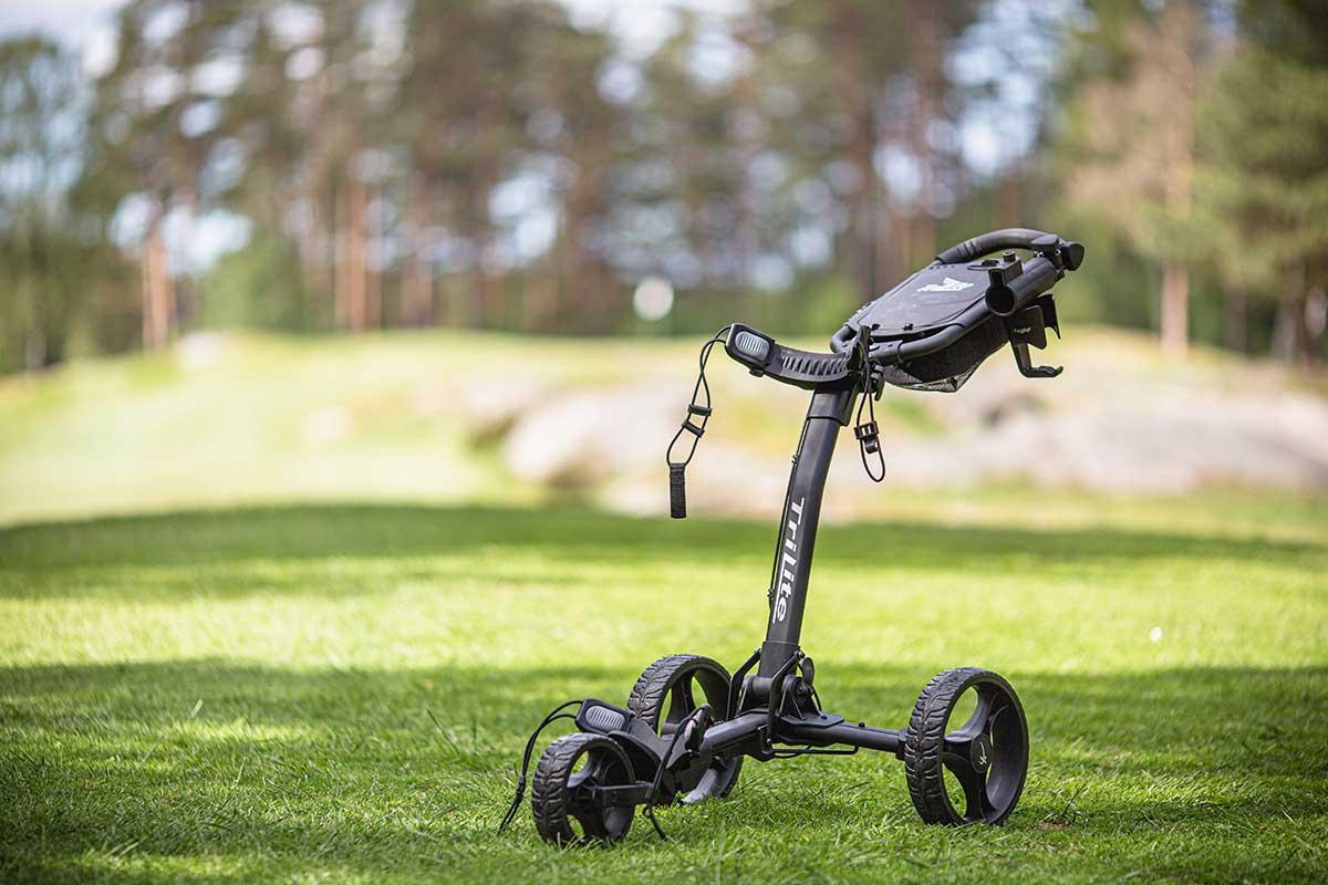 Golfvagn av modellen Axglo Trilite