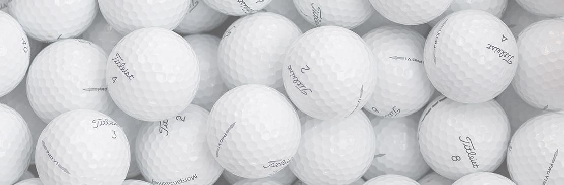 Zu allen Golfbällen