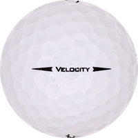 Golfboll av modellen Titleist Velocity