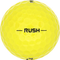 Golfboll av modellen Pinnacle Rush Gula