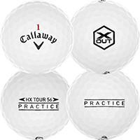 Golfboll av modellen Callaway Tour Practice