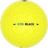 Golfboll av modellen Nike RZN Black Gula