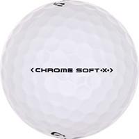 Golfboll av modellen Callaway Chrome Soft X