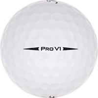 Golfboll av modellen Titleist Pro V1 (2017)