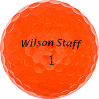 Golfboll av modellen Wilson Staff Mix Farvet