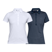 Under Armour - Zinger SS Novelty Polo Dam