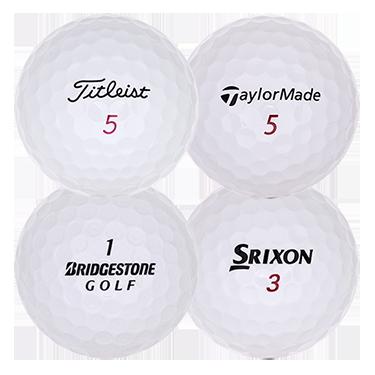 Tourbollspaket med 4 olika bollmärken