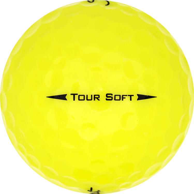 Titleist Tour Soft Gelb