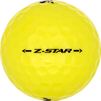 Golfboll av modellen Srixon Z-Star Gula (2017)