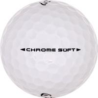 Golfboll av modellen Callaway Chrome Soft (2018)