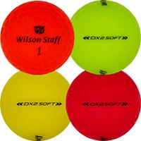 Golfboll av modellen Wilson Staff Dx2 Soft Optix Matta