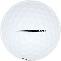 Golfboll av modellen Bridgestone e6 (2019)