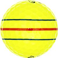 Golfboll av modellen Callaway ERC Soft Gule