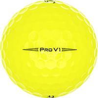 Golfboll av modellen Titleist Pro V1 Gula (2019)
