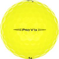 Golfboll av modellen Titleist Pro V1x Gula (2019)