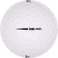 Golfboll av modellen Top Flite D2 Feel