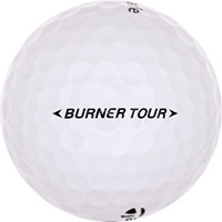 Golfboll av modellen TaylorMade Burner Tour
