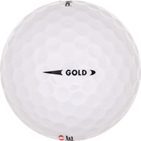 Golfboll av modellen Pinnacle Gold