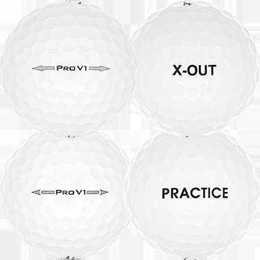 Pro V1 Practice/X-Out