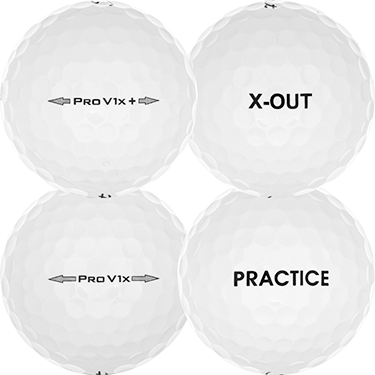 Pro V1x Practice/X-Out