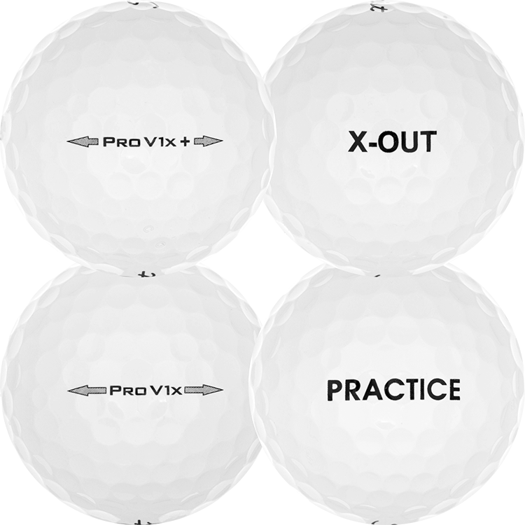Pro V1x Practice X-Out Golfbollar  58ab10c83