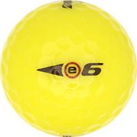 Golfboll av modellen Bridgestone e6 Gul