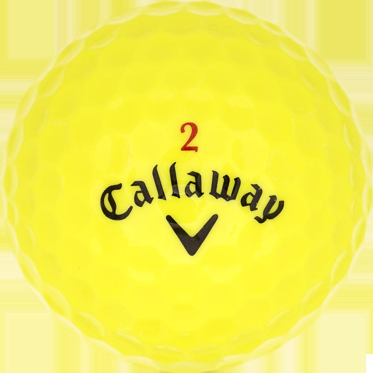 Callaway Chrome + Gelb