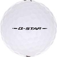 Golfboll av modellen Srixon Q-Star