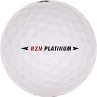 Golfboll av modellen Nike RZN Platinum