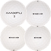 Golfboll av modellen Maxfli Tour
