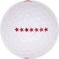 Golfboll av modellen Maxfli Noodle Long