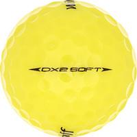 Golfboll av modellen Wilson Staff Dx2 Soft Gul