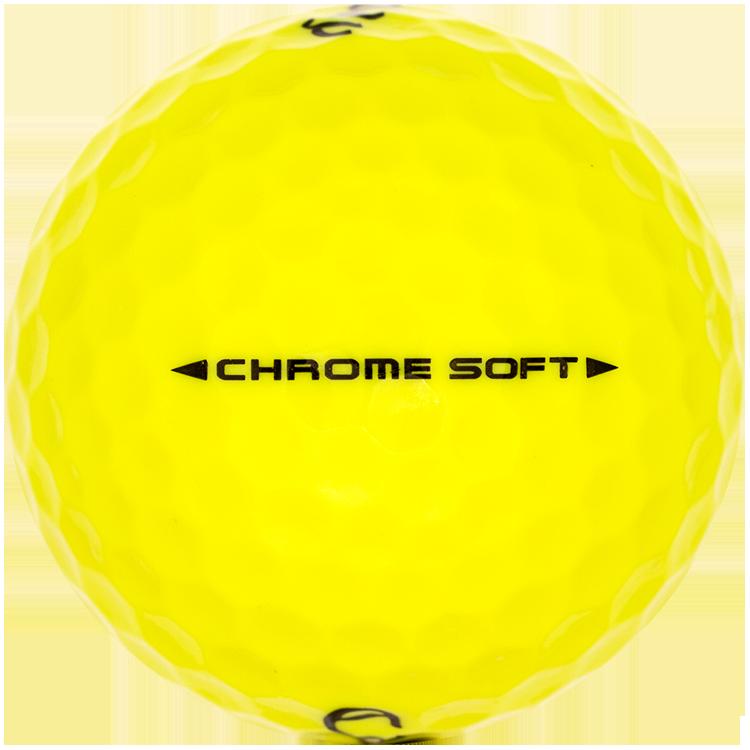 Callaway Chrome Soft Gelb