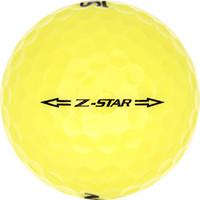 Golfboll av modellen Srixon Z-Star Gul (2015)