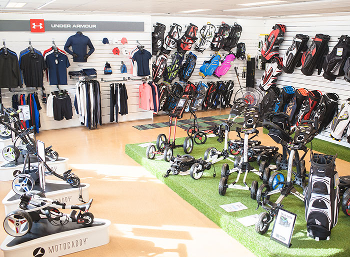 Golfutrustning butik