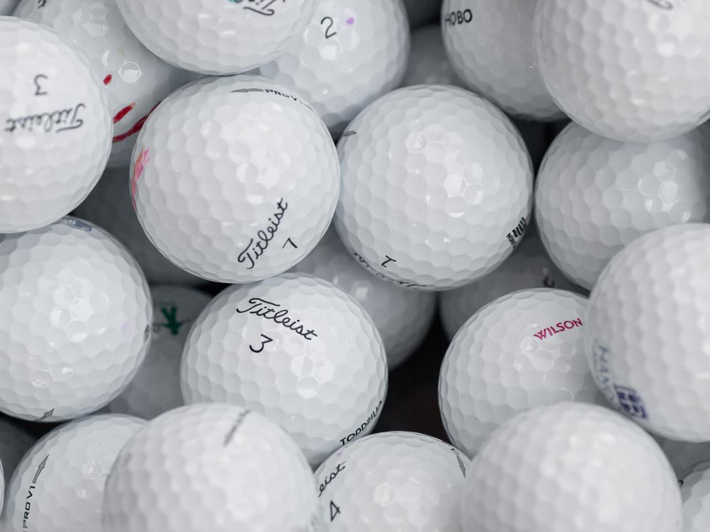 Golfbollar B-Klass