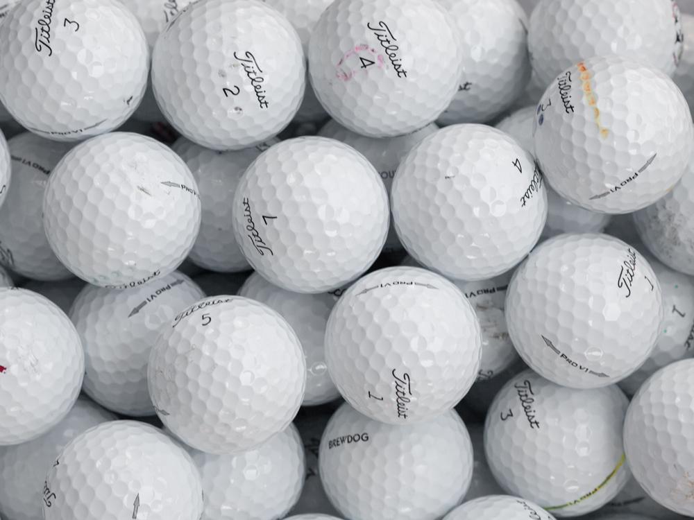 Golfbollar C-Klass