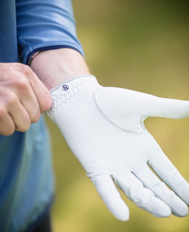 Passformen på golfhandsken HJ Solite