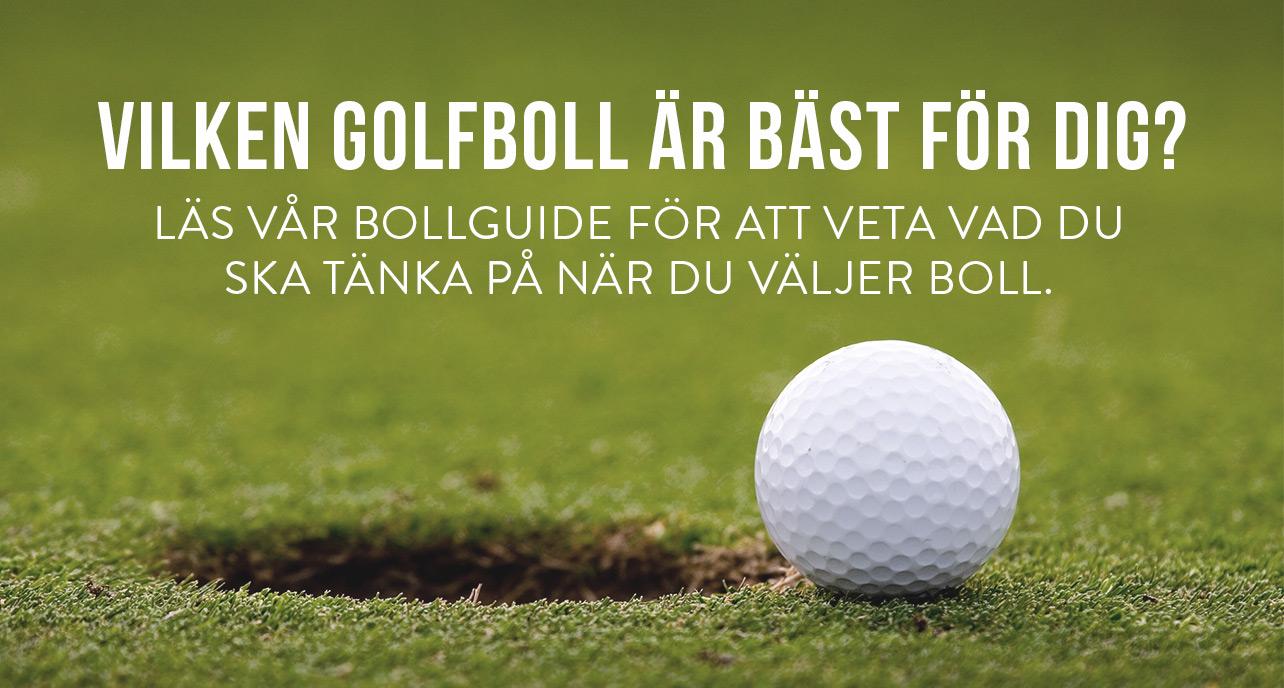 Vilken golfboll är bäst för dig?