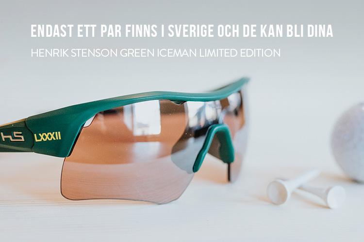 Henrik Stenson Green Iceman limited edition