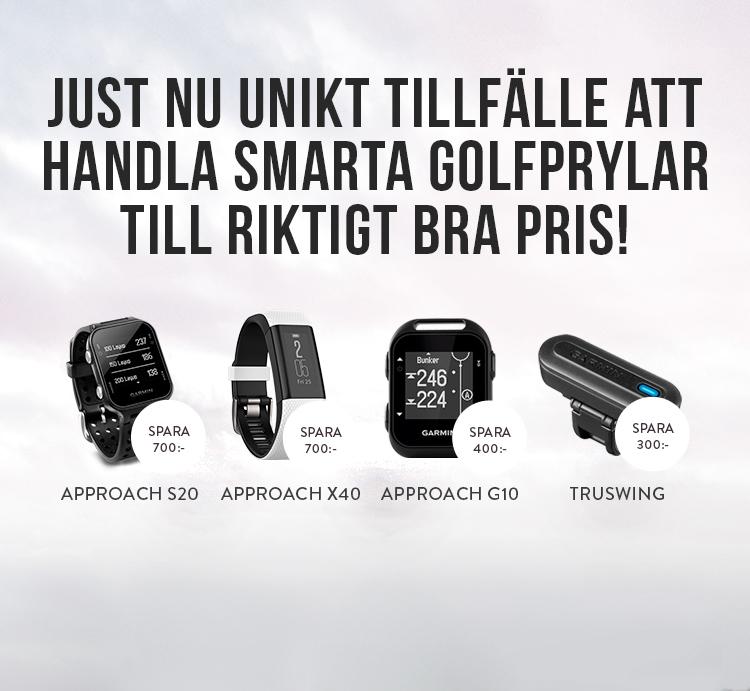 Unik chans att köpa golfklockor från Garmin till riktigt bra pris